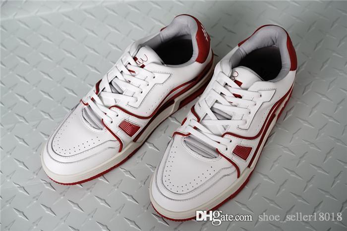 Fashionable White Leather Ankle Sneaker