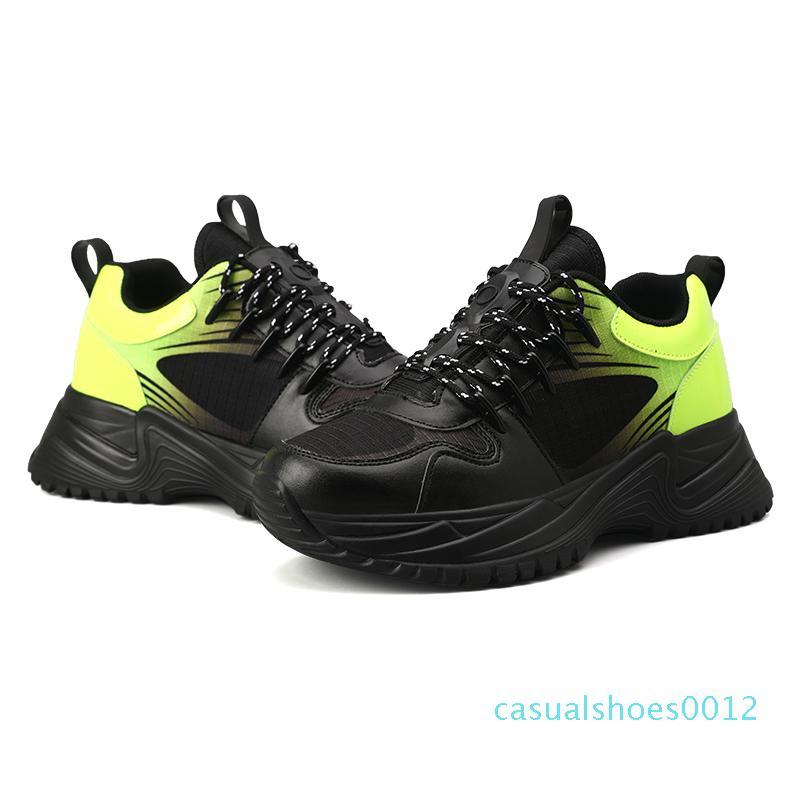 Run Luxo Tripler Fashoin Longe pulso Triple S dos homens do desenhista Oxford Futebol Tênis Rubber Platform instrutor de couro Casual Sneakers c12