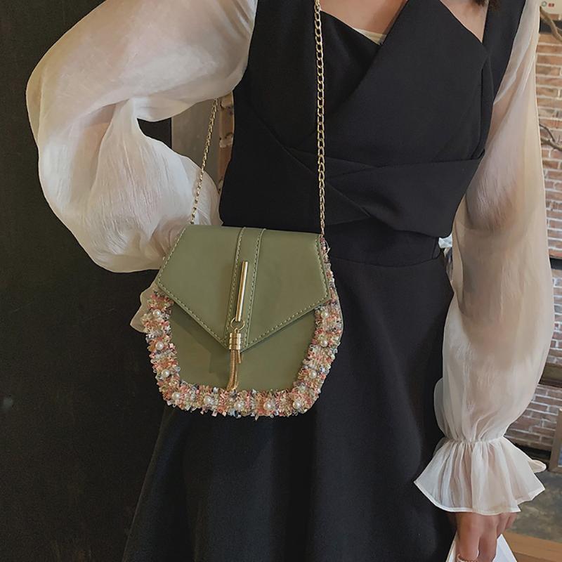 Pochette estate delle donne della nappa Selvaggio Messenger Bag colore solido di modo Borse Messenger Selvaggio Beach Bags Borsa Mujer J3