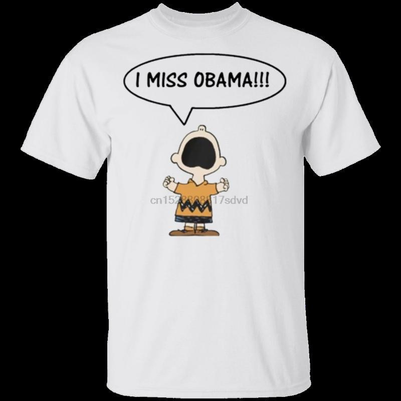 Mens Chris Brown I Miss Обама T Shirt Размер M 3XL