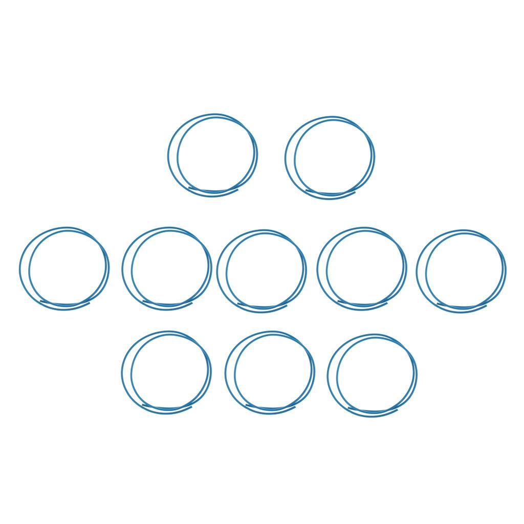 Tube PTFE pour imprimante 3D 1.75mm Filament 2.0mm ID / OD 4.0mm 1Meters Bleu