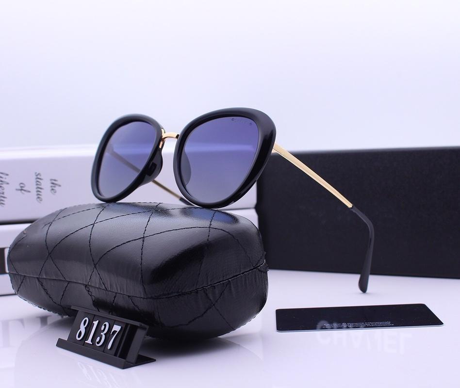 Объектив поляризованный выбор Новый тип Солнцезащитные очки Цвет Роскошный дизайн Женщины Смола для -2019 Солнцезащитные очки 5 8137 EGLWR