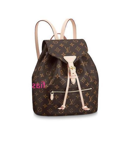 M43431 Montsouris Women Fashion Rucksäcke Business Taschen Tote Messenger Bags Reisetaschen Rolltaschen
