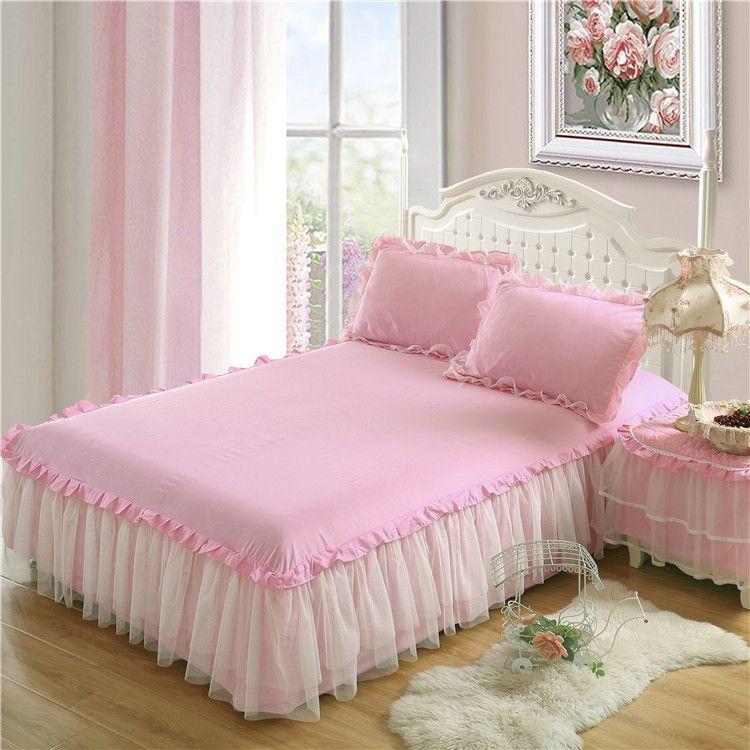 Rufflled Bedspread Romantic Lace Bed Skirt Bed Sheet Handmade Bedspreads Twin Bed Skirts Queen Size Burlap Bedskirt Linen Bedskirt From Glamorousqueen3 44 22 Dhgate Com