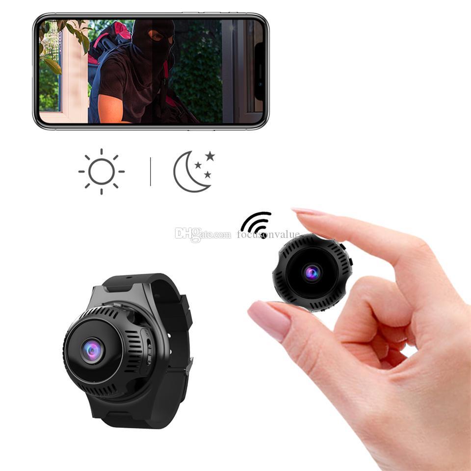 Wearable Wireless Mini WIFI Camera X7 HD 4K 1080P Micro Video IP Camera Infrared Night Vision Network Intelligent Monitoring Camcorder