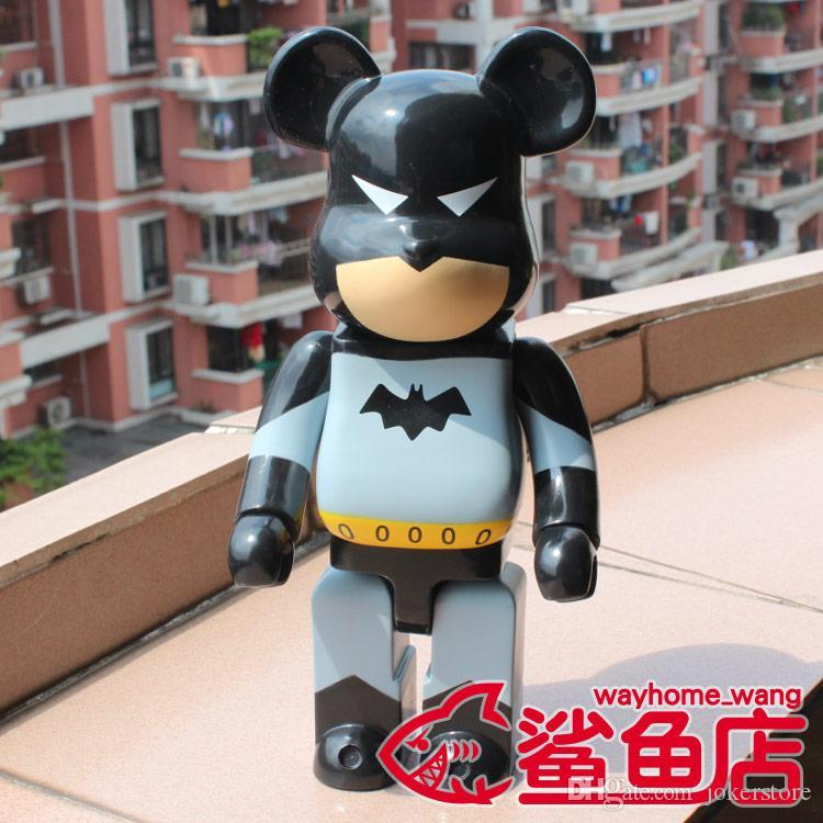 28CM جديد 400٪ Bearbrick باتمان عمل الشكل النادرة نموذج الساخن لعب أعياد ميلاد هدايا دمية PVC جديد Arrvial شحن مجاني