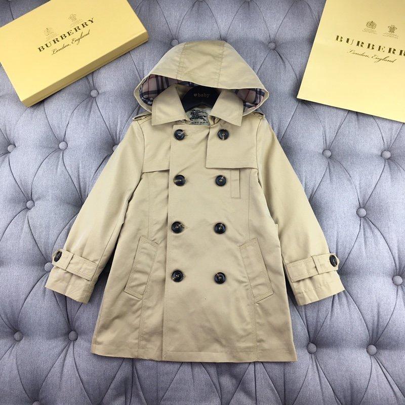 мальчики девушки пальто пальто зимы малышей пиджаки Детская одежда мальчиков ветровка 191202-369 * 5514