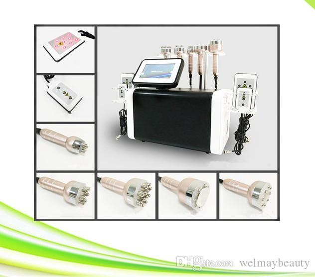 Profesional 6 en 1 spa clínica salón liposucción no invasiva precios lipolaser lipo láser máquina para adelgazar y formar