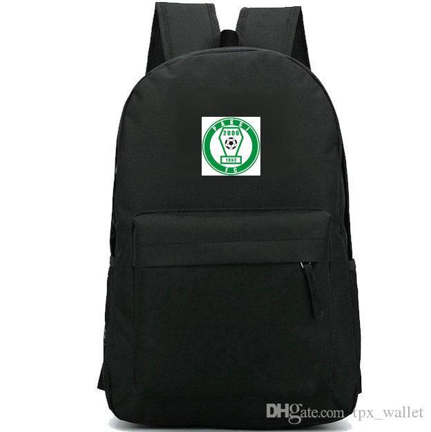 Mochila paksi SE daypack Nuclearteam logotipo do clube de Futebol mochila de Futebol saco de crachá mochila saco de escola Do Esporte Ao Ar Livre pacote de dia