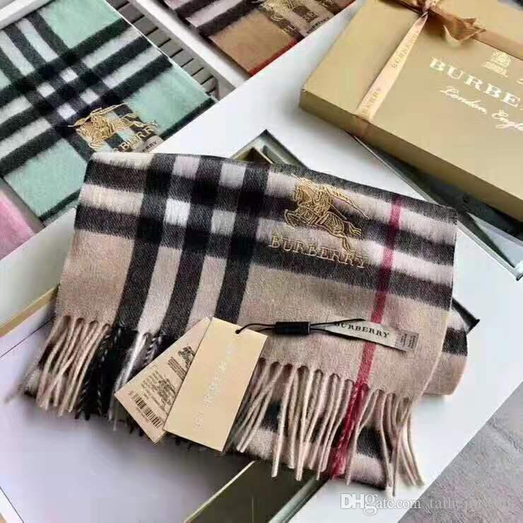 2019 vendita calda lana cashmere delle donne europeo di nuovo stile di alta qualità di inverno delle sciarpe della sciarpa scialli delle donne 33 * 170 centimetri trasporto libero s11