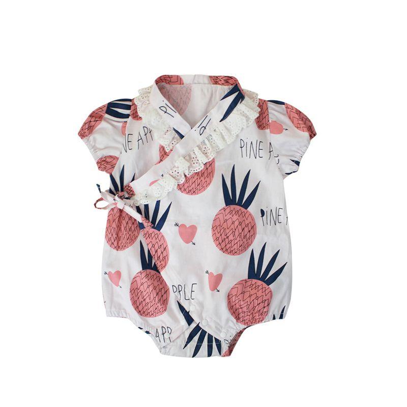 Quimono roupas de bebê japoneses estilo roupa dos miúdos meninas romper retro roupão roupas uniformes crianças pijamas Costume floral