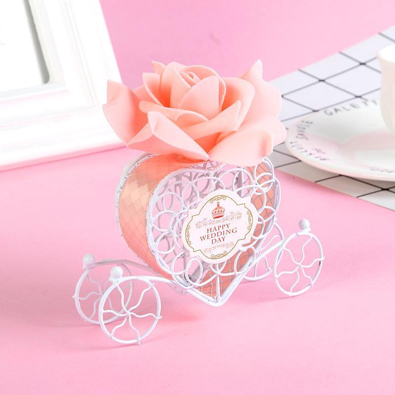 Şeker Kutusu Düğün Avrupa Yaratıcı Demir Romantik Kalp Shape kabak obüs Düğün Favor ve Hediyeleri Düğün Dekor