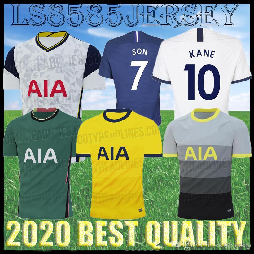 20 21 Spurs man and kids home soccer Jersey Kits 2020 2021 Tottenham Kane Son Alderweireld Eriksen Dele HOME AWAY Adult child Football Shirt