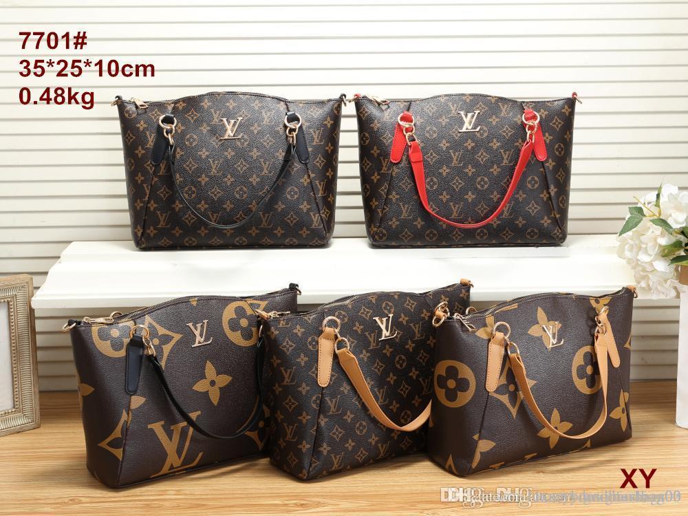 Hot Vintage klassischer Frauen-Tasche Fashion High-End-Schulter-Beutel-Leder-Handtasche Geldbeutel-freies Verschiffen 009