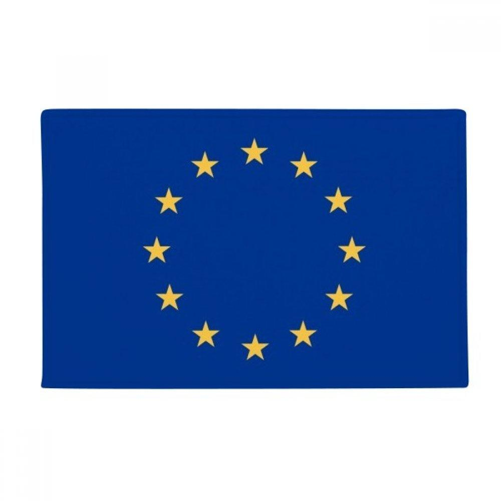 "DIYthinker EU National Flag Europe Country Anti-Slip Floor Mat Carpet Bathroom Living Room Kitchen Door 16""x30""Gift"