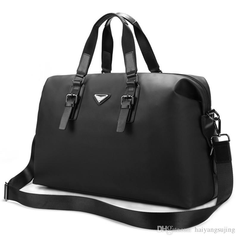 Maleta de Negócios Laptop Crossbody Bag 15.6 Polegada À Prova D 'Água Computador Notebook Bolsa de Ombro Maleta Homens Sacos de Viagem Tote Messenger