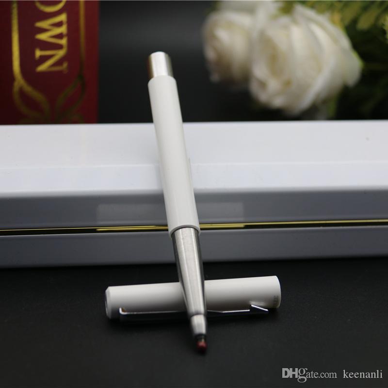 Oficina de la pluma del envío libre de la escuela de los efectos de escritorio de Alimentación Fuentes de la escuela BallpointPen Marca bolígrafos Roller Bolígrafo