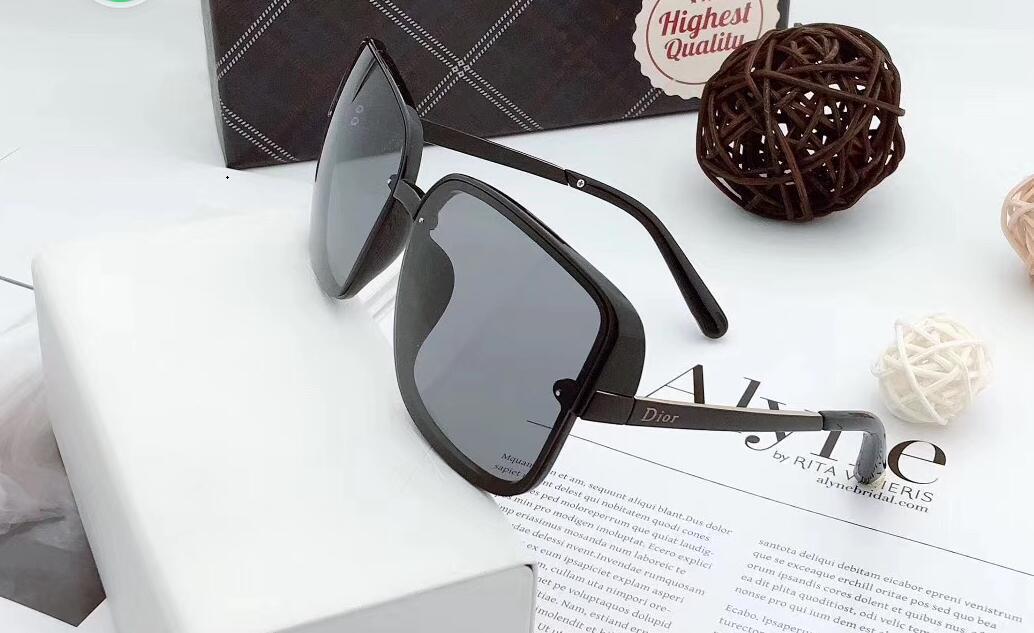 1323Designer Açık Sürüş Erkekler Polaroid Lensler Sunglasse Polarize Gözlük Moda Kadınlar Güneş Vintage Gözlük Yüksek Kalite ile Kutusu gözlük