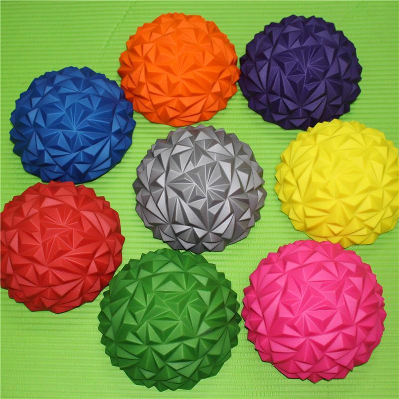 Plantar Masaj Topu Yoga Eğitim Yarım Topları Ananas Yaramaz Kale Oyuncak Yumuşak Anti Giyim Yeşil Mor 6 4lg C1