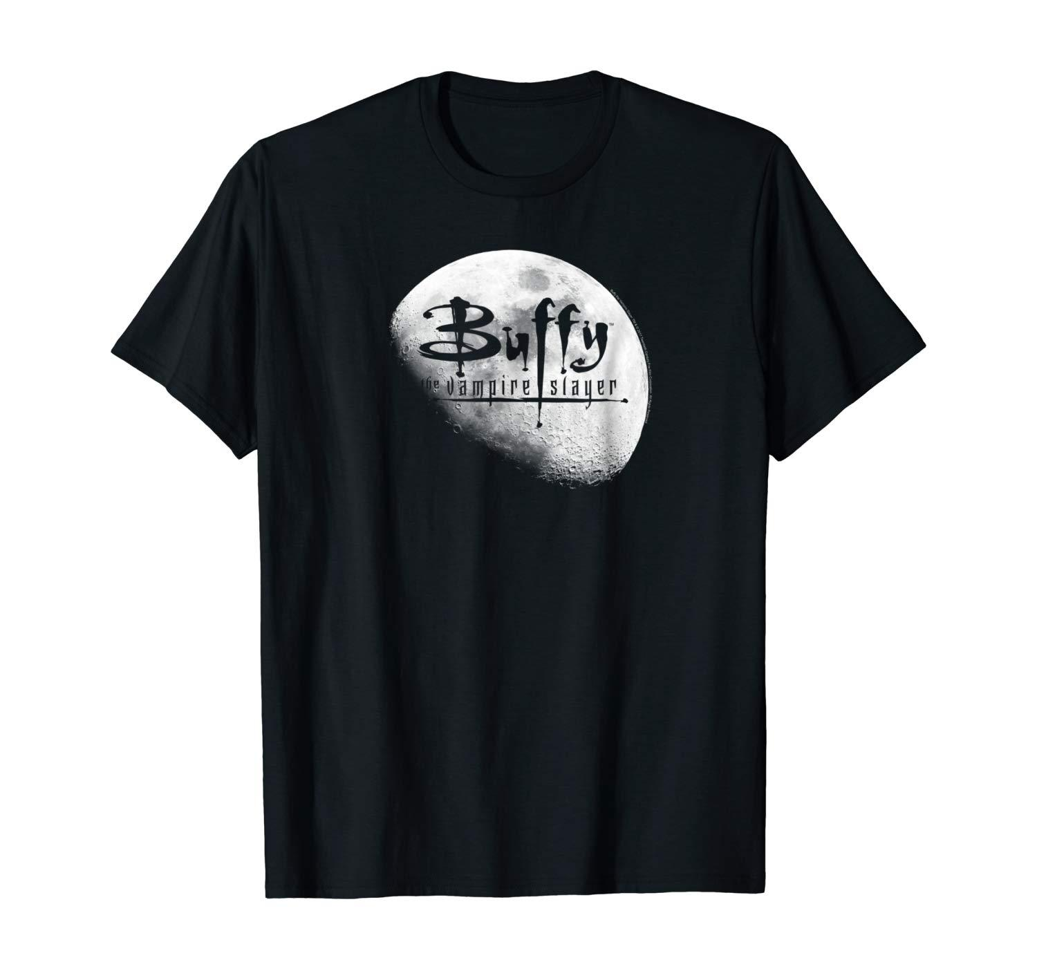 Buffy logotipo de la luna camiseta