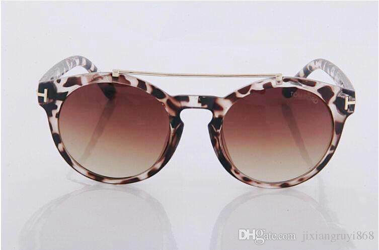 Top qualité nouvelle mode lunettes de soleil pour tom homme femme lunettes designer marque lunettes de soleil ford lentilles avec boîte 0383