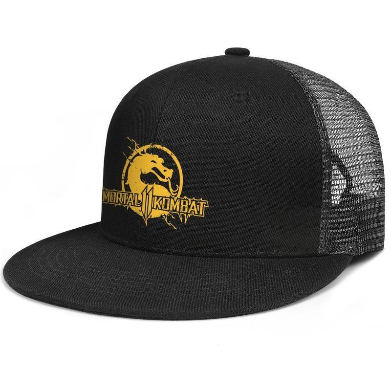 a51eecbd442c54 Womens Mens Plain Adjustable mortal kombat dragon Rock Punk Cotton Dad Hats  Golf Cadet Army Caps Airy Mesh Hats For Men Women