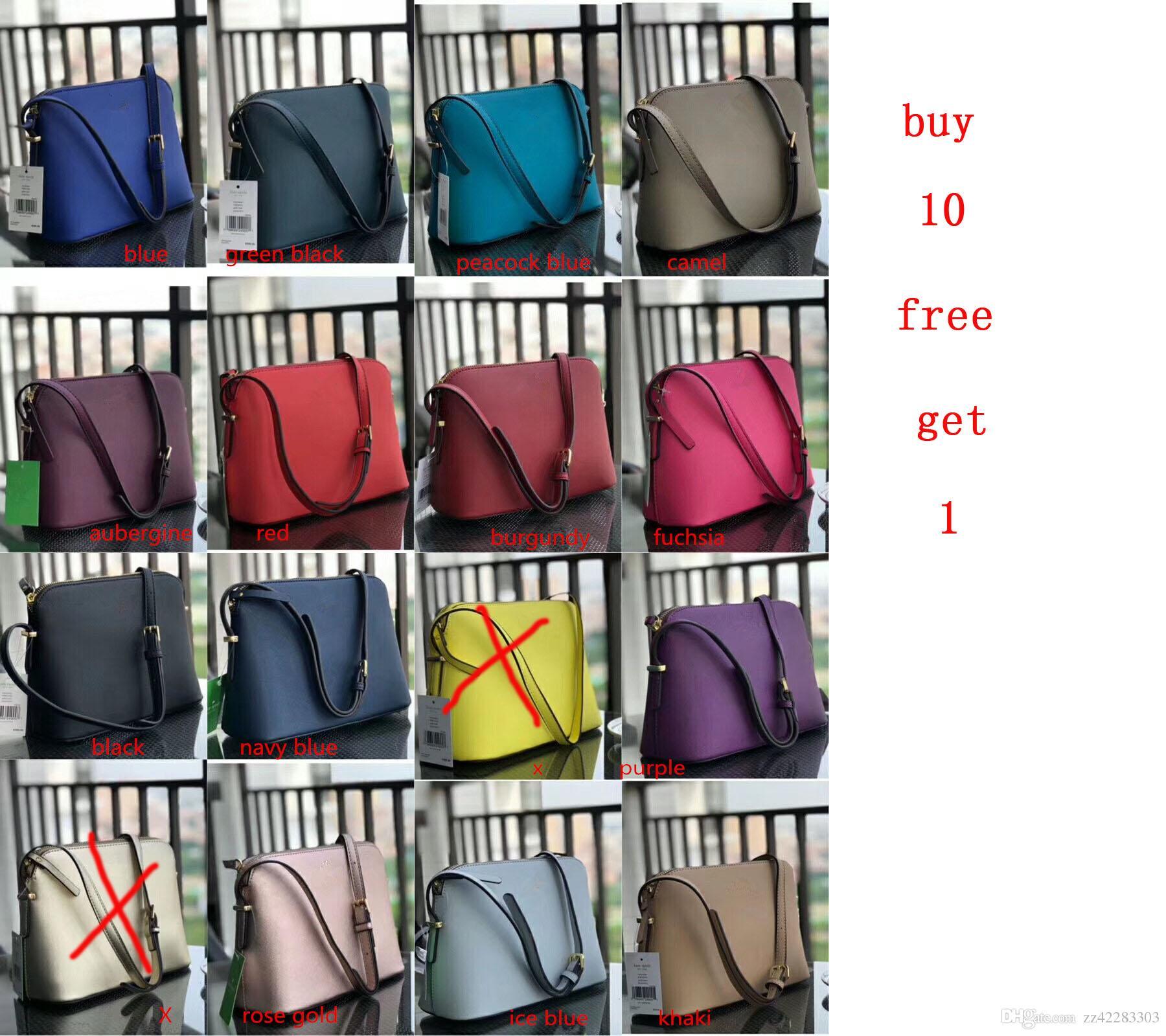 16 colores del bolso de las mujeres de cuero del hombro crossbody estrenar de la PU