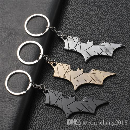 17 styles DC jewelry Superhero Batman Keychain Batman bottle opener pendant Superman key chain Comic Figure Accessories Key Rings jssl001