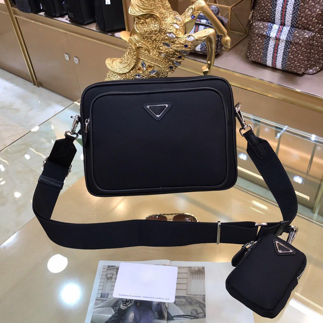 Mens designer sacos de luxo 2020 sacos nova moda ombro de alta qualidade do transporte homens do desenhista bolsa de peito de luxo sacos bolsa de mensagens nylon livre