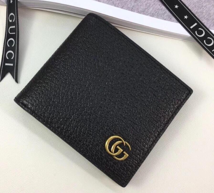 2019 롱 스타일 여성과 남성 가죽 지갑 다중 지갑 다미에 흑연 소프트 Bifold 신용 카드 소지자 지갑