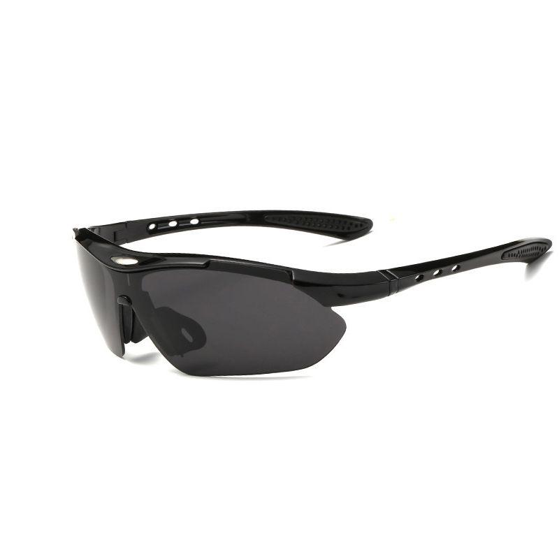 Sport all'aperto sport escursionismo occhiali da sole tattici occhiali cool occhiali da pesca ciclismo sport occhiali da sole moda ciclismo bicchiere bicchieri sport 02-401