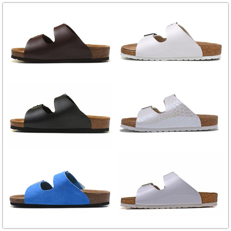 Mayarí Arizona Hombres Mujeres doble de pecho pisos deslizadores de las sandalias de corcho unisex de arena beah caunisex zapatos de arena Tamaño de impresión mixta 35-45