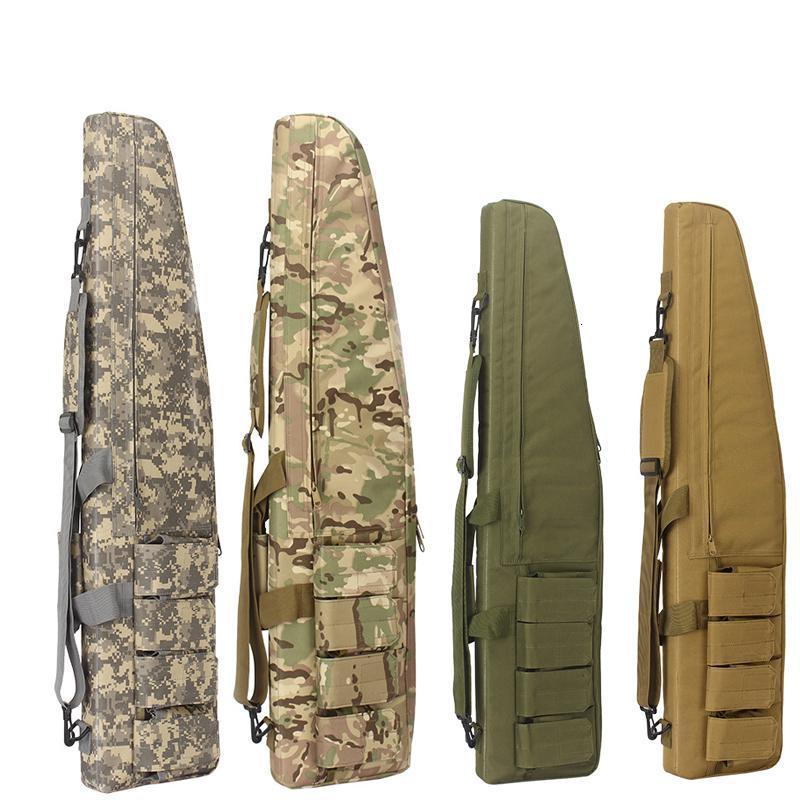 borse da caccia 70 centimetri / 100 centimetri / 120 centimetri tattico impermeabile del fucile di stoccaggio caso zaino militare del sacchetto pistola del airsoft Bag Caccia accessori T191204