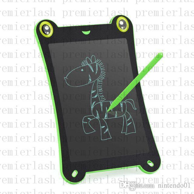 8.5 pulgadas LCD de la rana del dibujo del tablero de escritura de la tableta de escritura a mano pizarra de ratón Regalo para Handwritting Pads redactar pizarra electrónica
