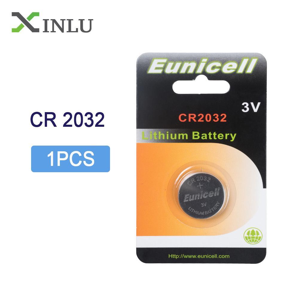 الرخيصة بطاريات زر خلية 1PC / حزمة CR2032 DL2032 CR 2032 زر خلية KCR2032 5004LC ECR2032 3V ليثيوم أيون ساعة عملة بطاريات بطارية