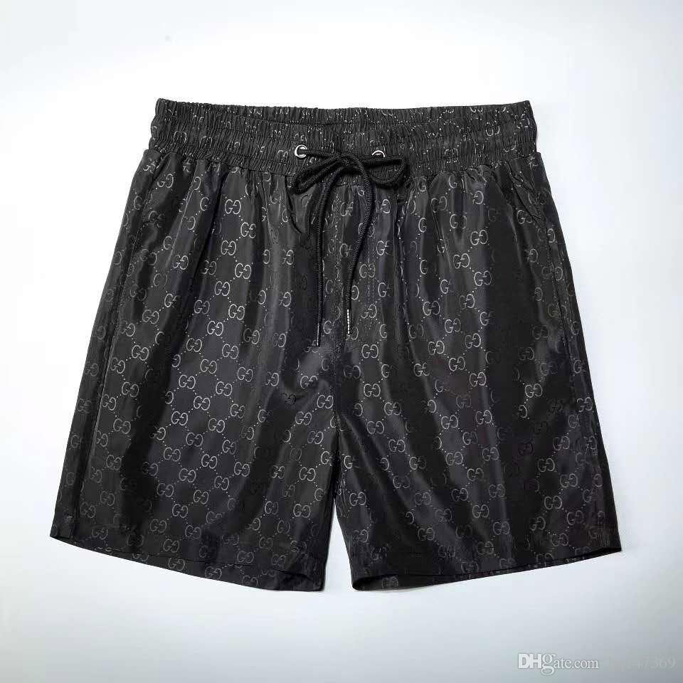 -Alta qualità dei progettisti stampa della lettera bicchierini del bordo di Mens short della spiaggia di estate spuma Pantaloni Uomo Swim Shorts STK88