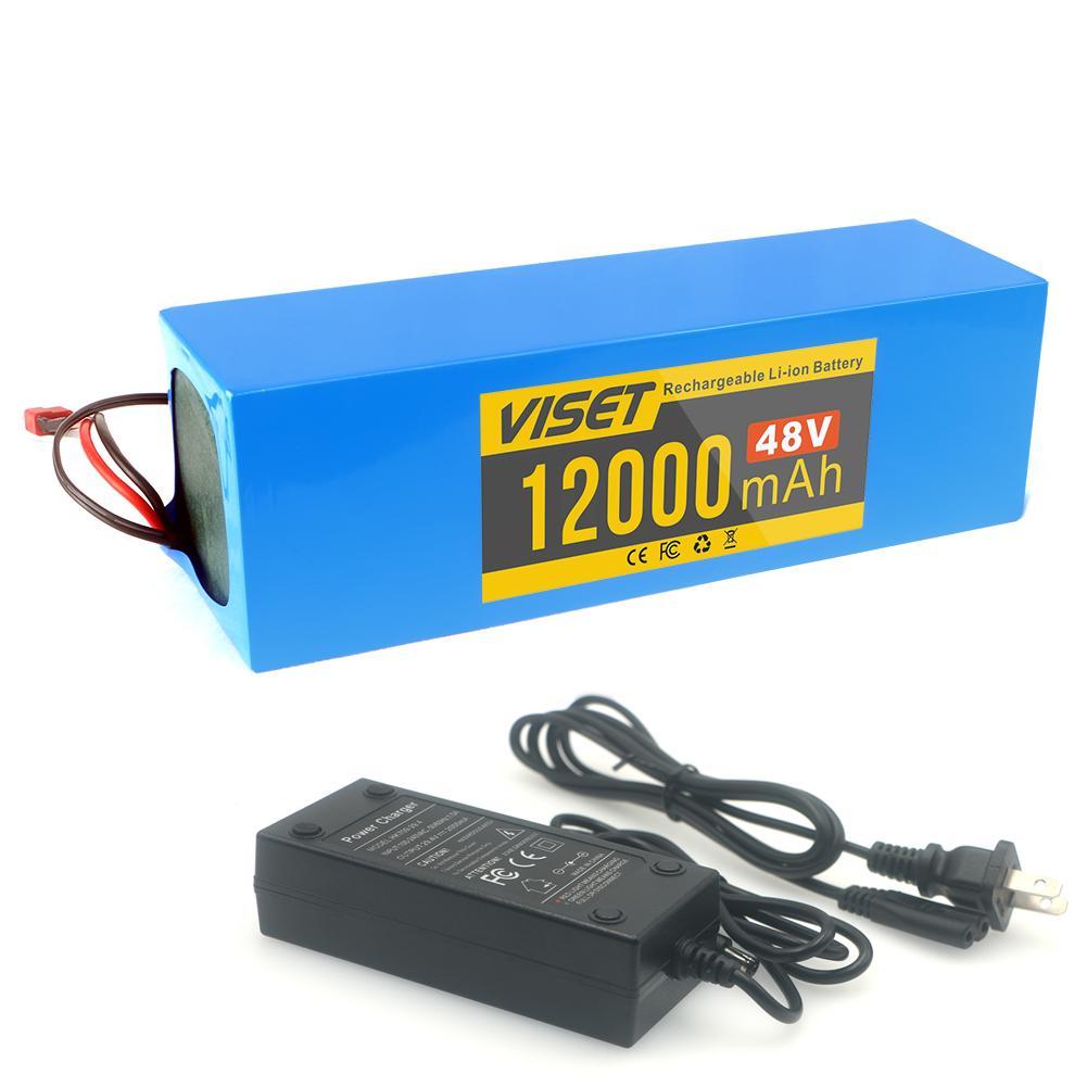 Высокое качество 48v12ah электрический велосипед литиевая аккумуляторная батарея 48v12000mah 18650 500w-800w 100% полный двигатель аккумуляторной батареи