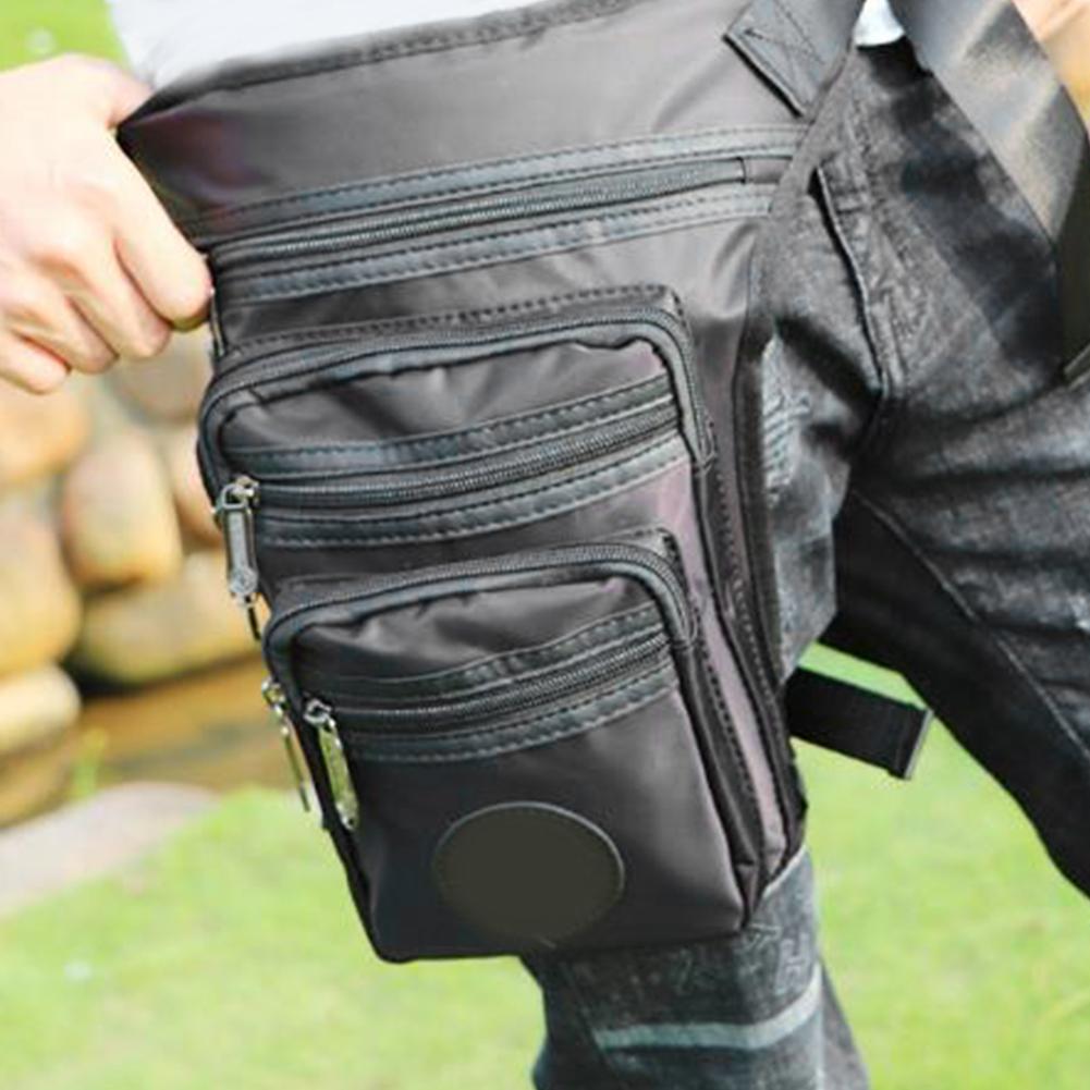 All'ingrosso-Men coscia Packet elasticità Sport multifunzionale esterna impermeabile doppio strato sacca da gamba di grande capienza sacchetto della vita del Correre