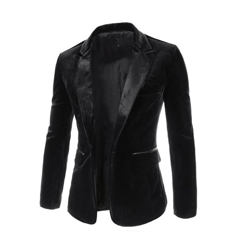 2017 Nova Chegada dos homens Marca de Moda de Alta Qualidade Mercadorias Ternos de Negócios Casuais / ternos de veludo dos homens Jaqueta Homens Frete Grátis