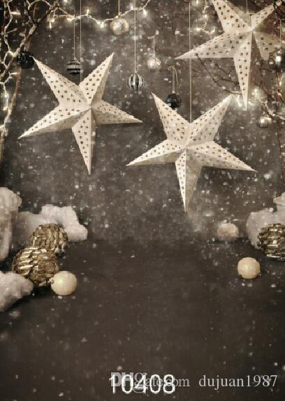Винил Пользовательские Фотографии Фонов Опора Цифровой Печатный Рождество тема фотостудия Фон HJ48