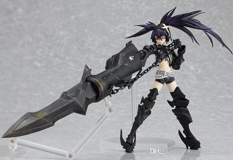 Anime Black Rock Shooter HEIY figma SP-041 Ação PVC Figura Collectible Modelo Toy 15 centímetros KT2394
