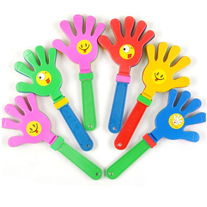Kunststoff Handklöppel klatschen Spielzeug jubeln führenden Klatschen für Olympisches Spiel Fußballspiel Geräuschhersteller Baby Kid Pet Toy