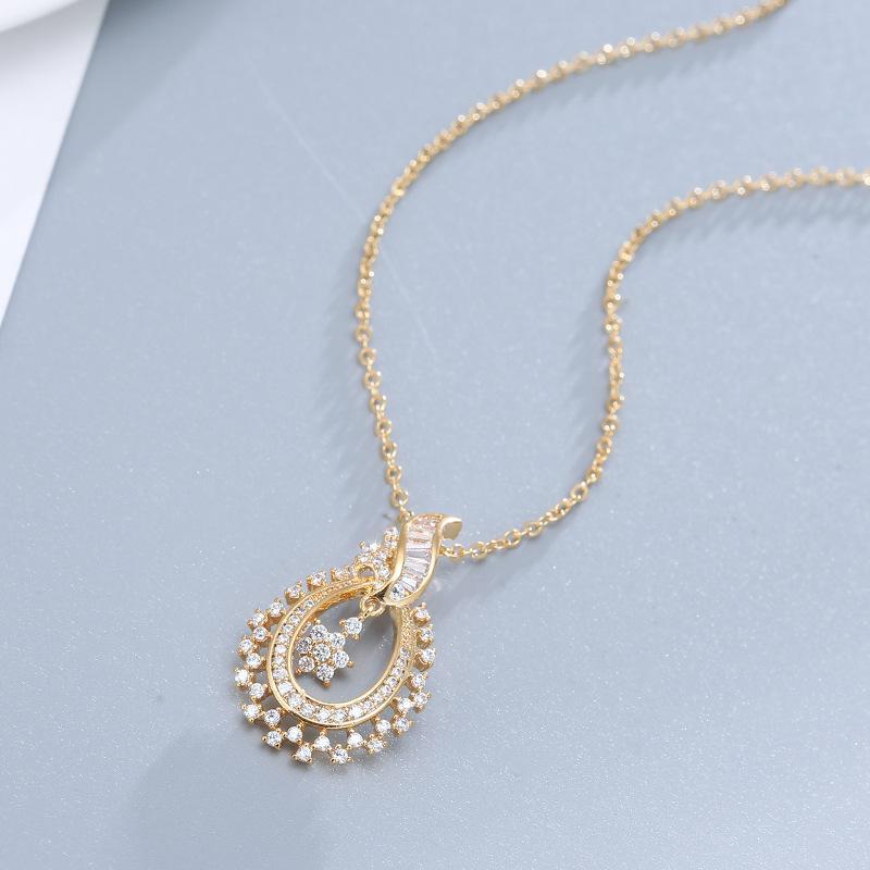 Популярная 925 Серебряная мозаика Циркон цветок мотаться кулон мода Шарм ювелирные изделия аксессуары Амулет подарки для женщин Ее