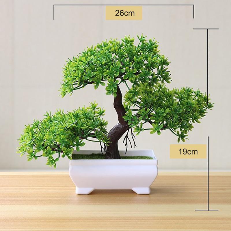 Paisagem Home Decor Floral Flor Bonsai Artificial solto Lotus Carnation Bonsai Planta de vaso de flor artificial Falso