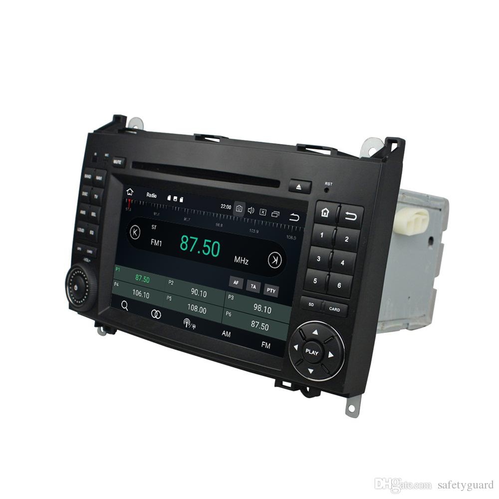 "Octa Core 2 din 7"" Android 8.0 Car DVD Radio GPS for Benz A-W169 B-W245 Viano Vito Bluetooth WIFI 4GB RAM 32GB ROM"