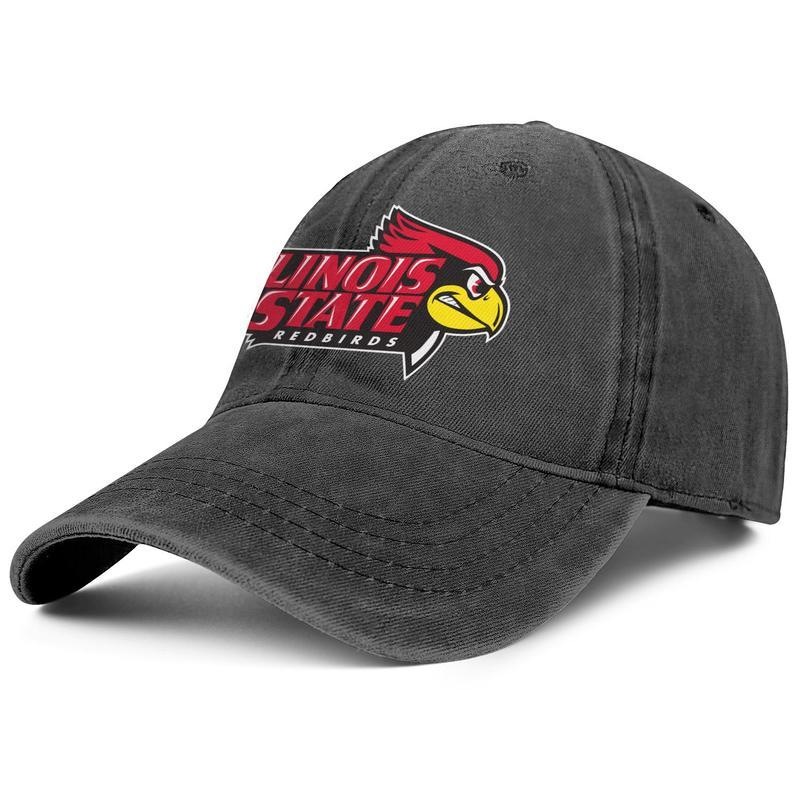 Штата Иллинойс redbirds в бейсбол логотип унисекс джинсовая кепка для гольфа бланк заказ шапки штата Иллинойс redbirds в серый камуфляж логотип