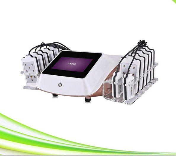 14 laser pad macchina per la liposuzione non invasiva laser perdita di peso lipolaser attrezzature per la bellezza dimagrante