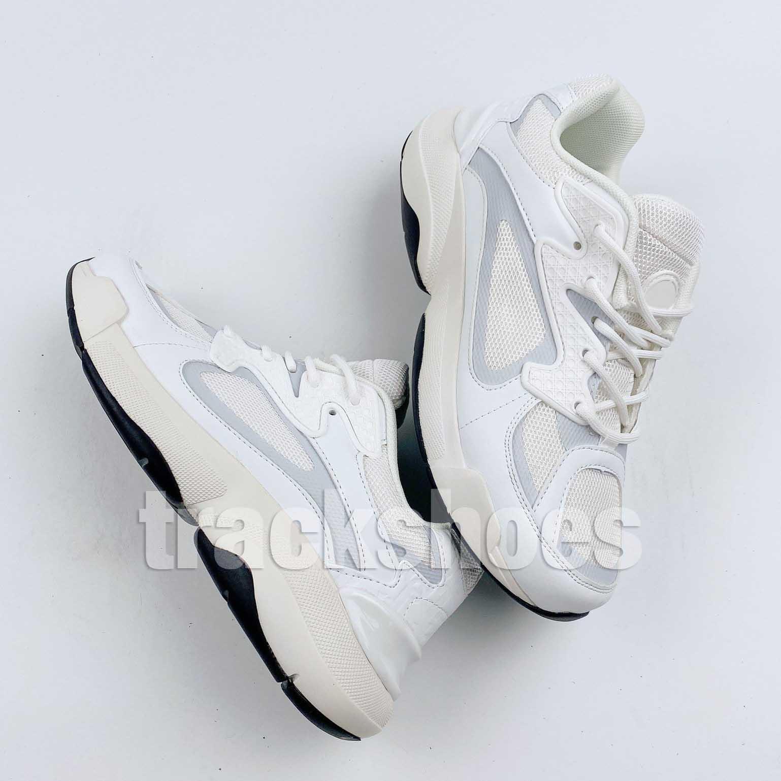 Nueva B24 Blanco Negro Gris para mujer Obliquees Flores diseñador de moda de plataforma para hombre del vintage zapatos al aire libre Triple S B24s zapatillas EUR36-45