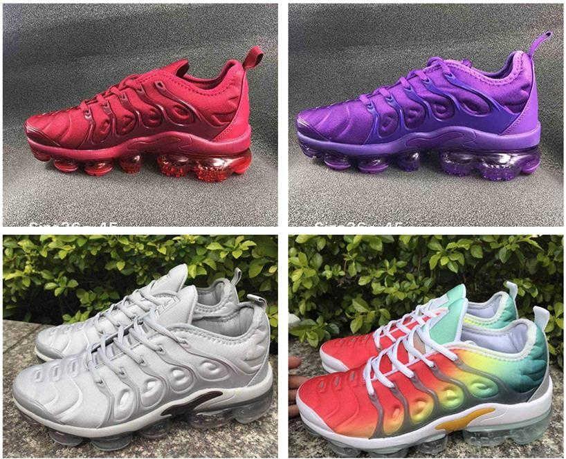 Nike Air Max Vapormax Shoes Erkekler Kadınlar Üçlü Siyah Beyaz için tn buharlar artı Koşu Ayakkabı Ture Grafik Desenler Be Mens Eğitmenler Spor Spor ayakkabılar