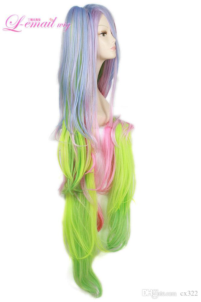 No Game No Life Shiro Cosplay Wig Crown Prop Long Hair Clip Ponytail Anime Wigs